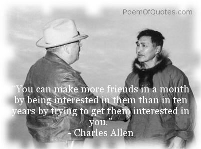 A quotation on friendship